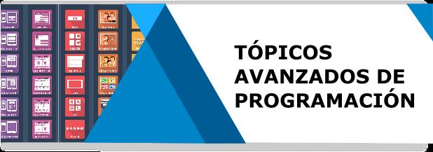 Tópicos Avanzados de Programación ISC