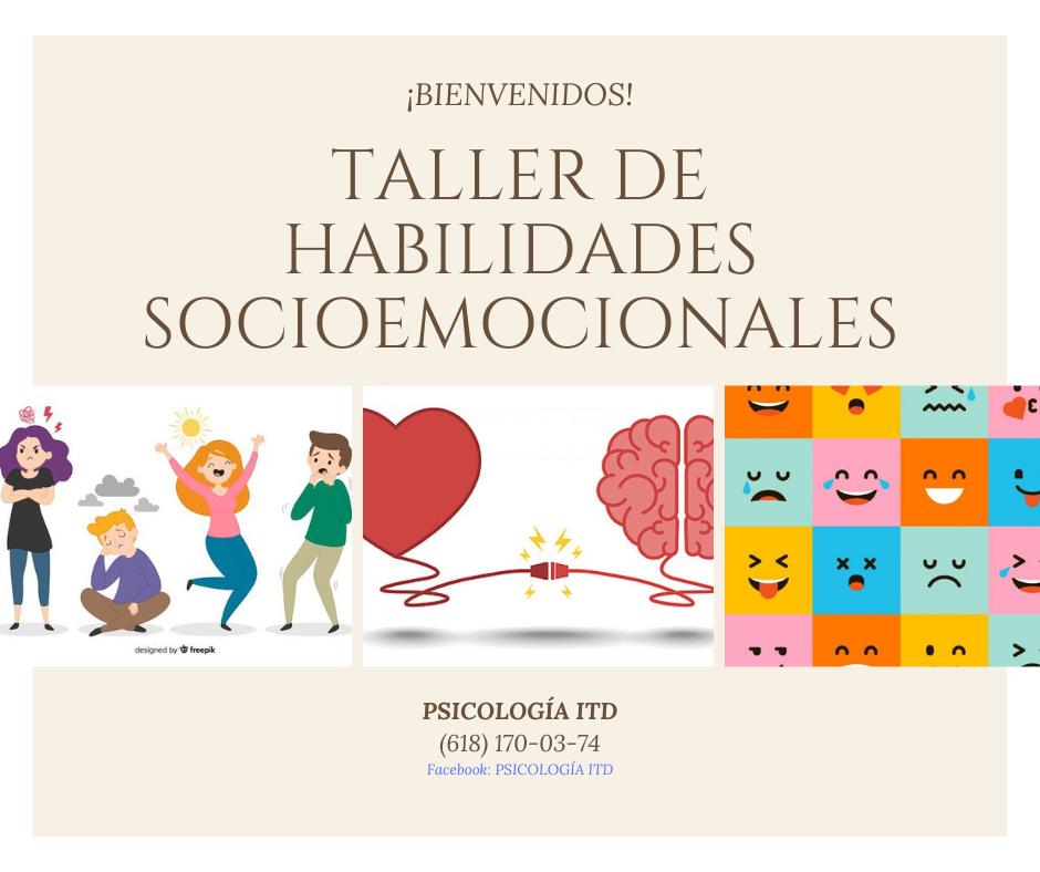 Taller de habilidades socioemocionales
