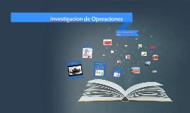 Investigación de Operaciones 1 4 O