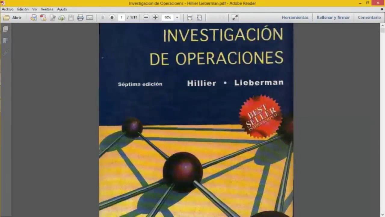 INVESTIGACIÓN DE OPERACIONES I