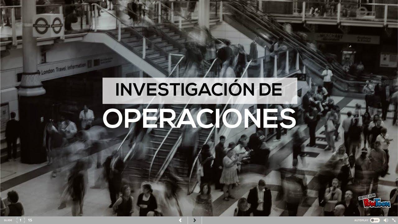 INVESTIGACION DE OPERACIONES II