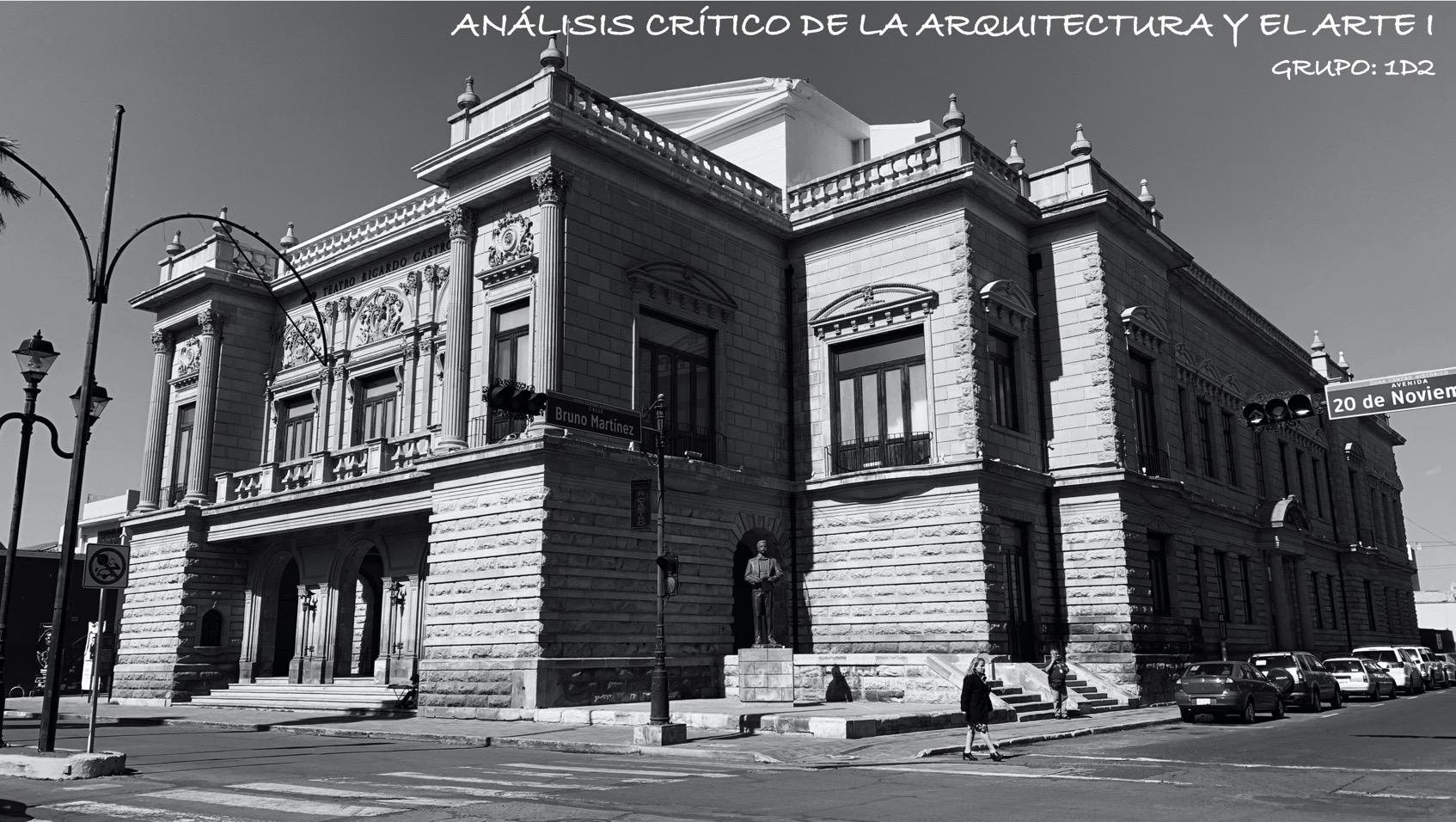 Análisis Crítico de la Arquitectura y el Arte I_Grupo 1D2
