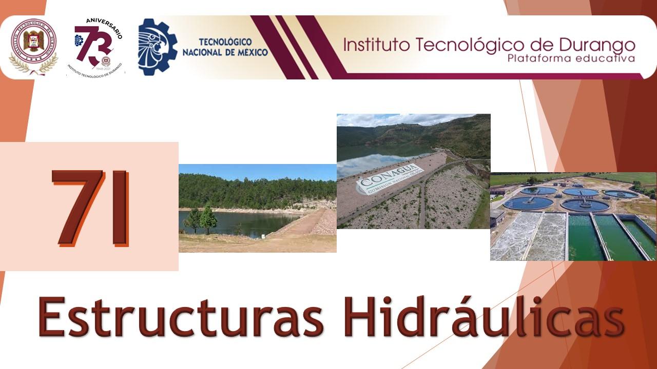 ESTRUCTURAS HIDRAULICAS 7I (JOSE AVILA) IC253