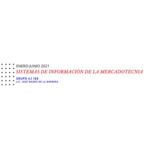 SISTEMAS DE INFORMACIÓN DE LA MERCADOTECNIA