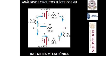 Análisis de Circuitos Eléctricos 4U
