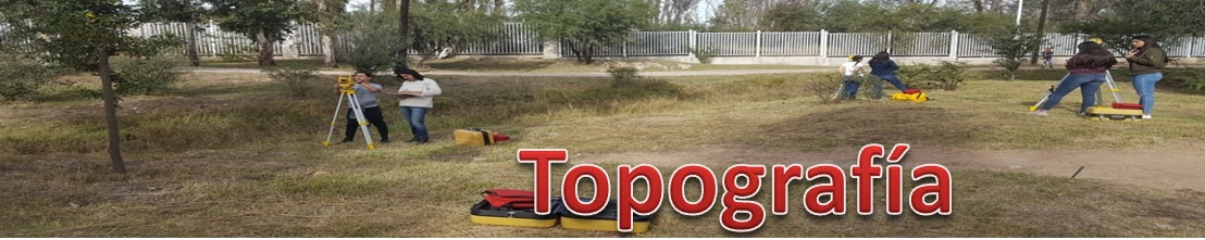 TOPOGRAFÍA 3E Y 3F