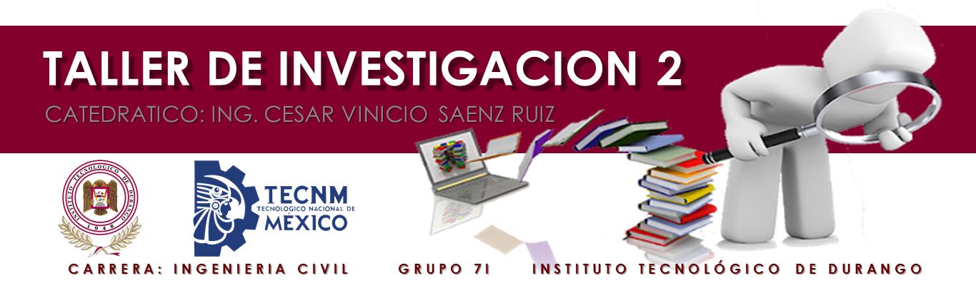 7I Y 7IP TALLER DE INVESTIGACIÓN 2