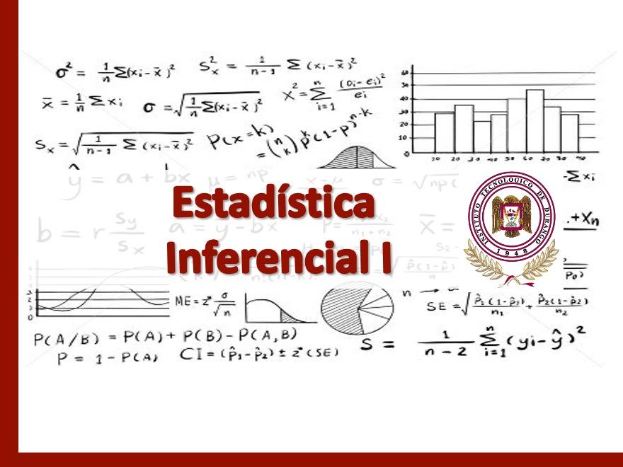ESTADISTICA INFERENCIAL I GRUPO 3P