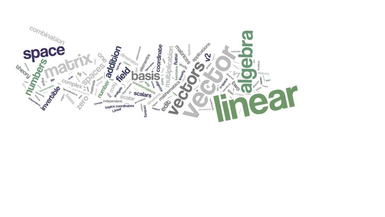 Álgebra Lineal ACF-0903